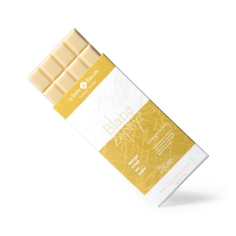 Tablettes 100 gr blanc
