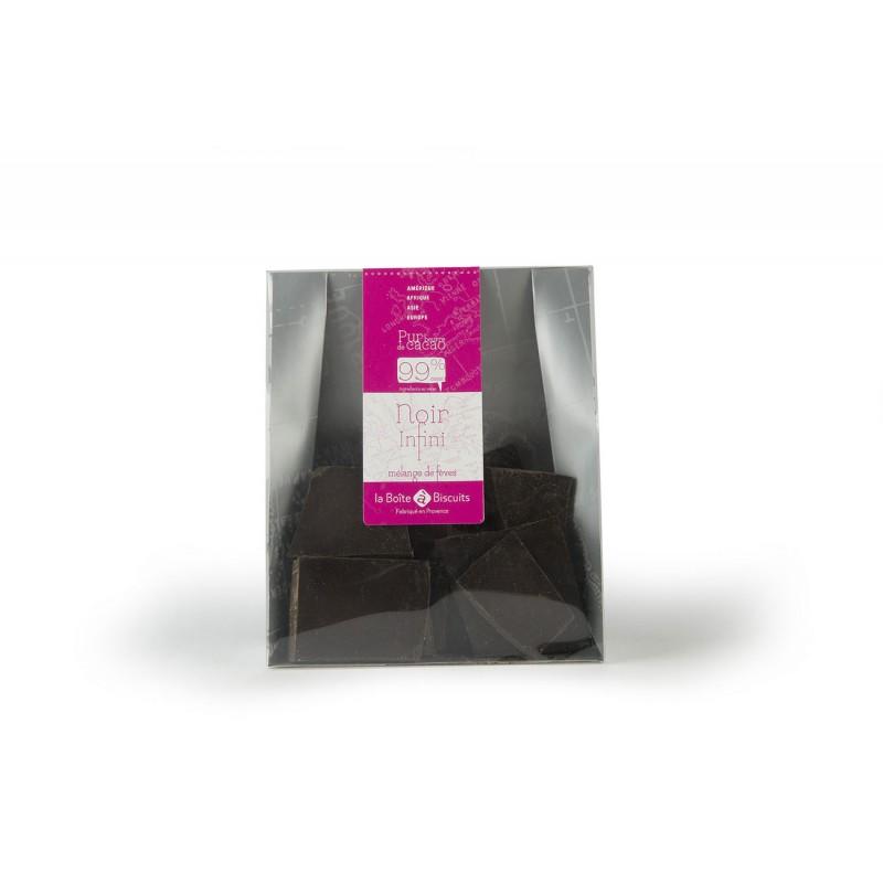 Plaque chocolat noir 99%