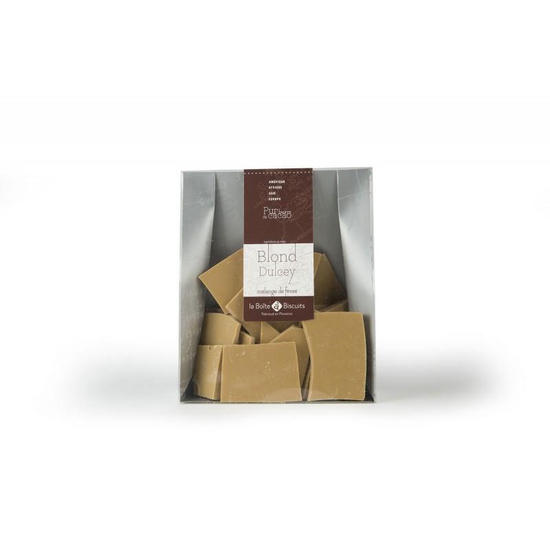 Plaque chocolat dulcey
