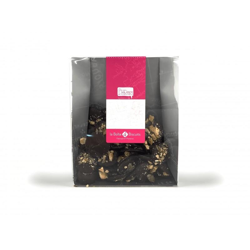 Mendiants chocolat noir unité