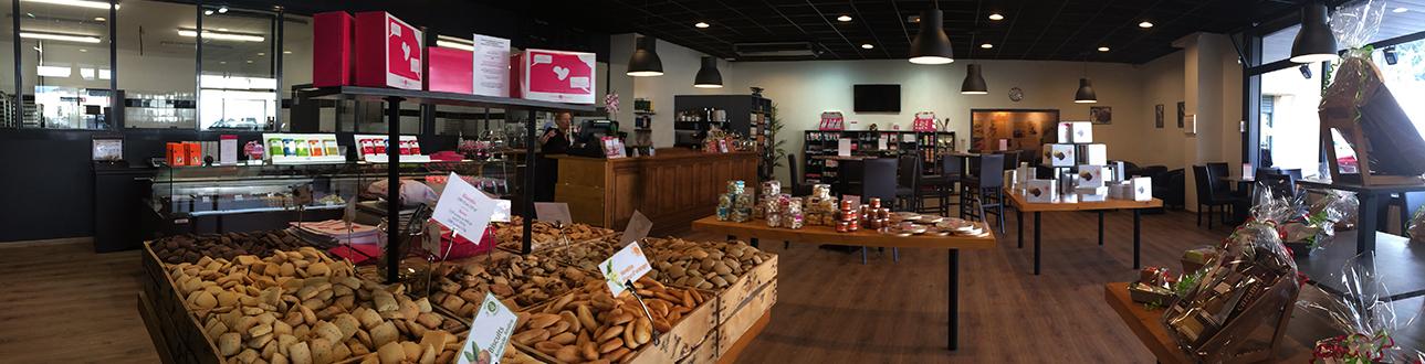 photo du magasin boîte à biscuits