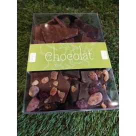 Boite Plaques de chocolat - Noir et Lait