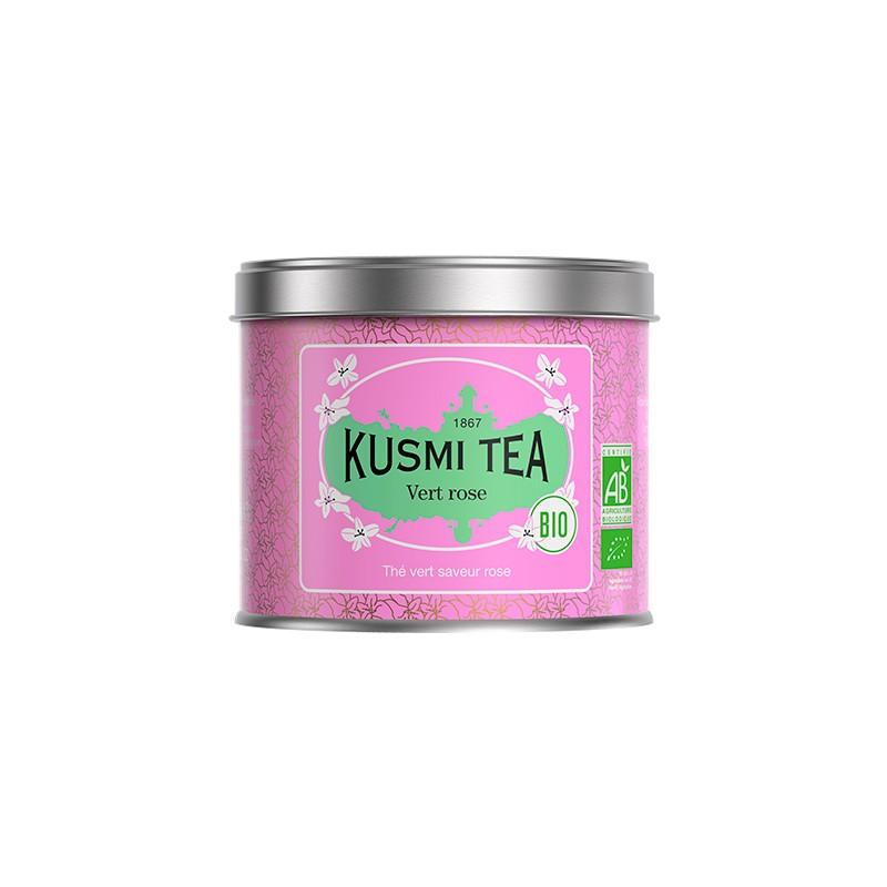 thé vert à la rose