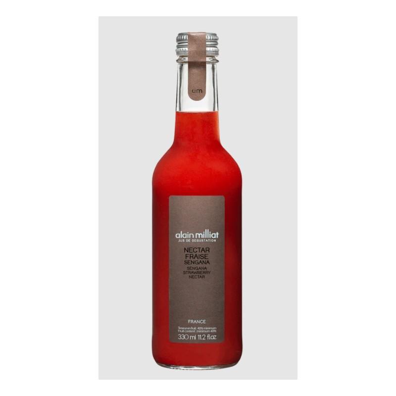 Nectar de fraise Alain Millat 100cl