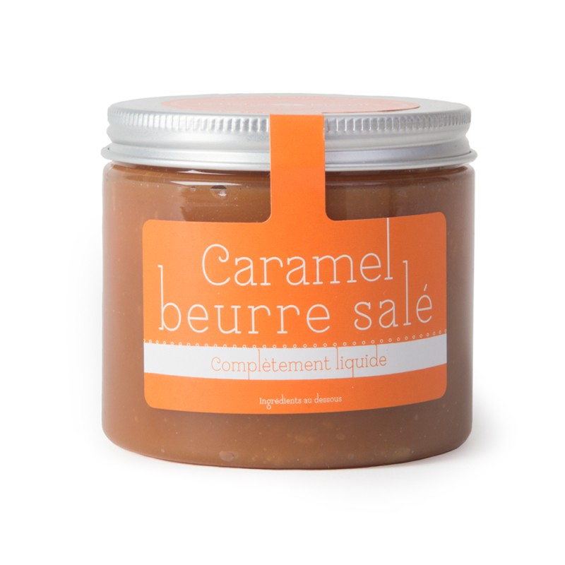 Caramel au beurre salé liquide