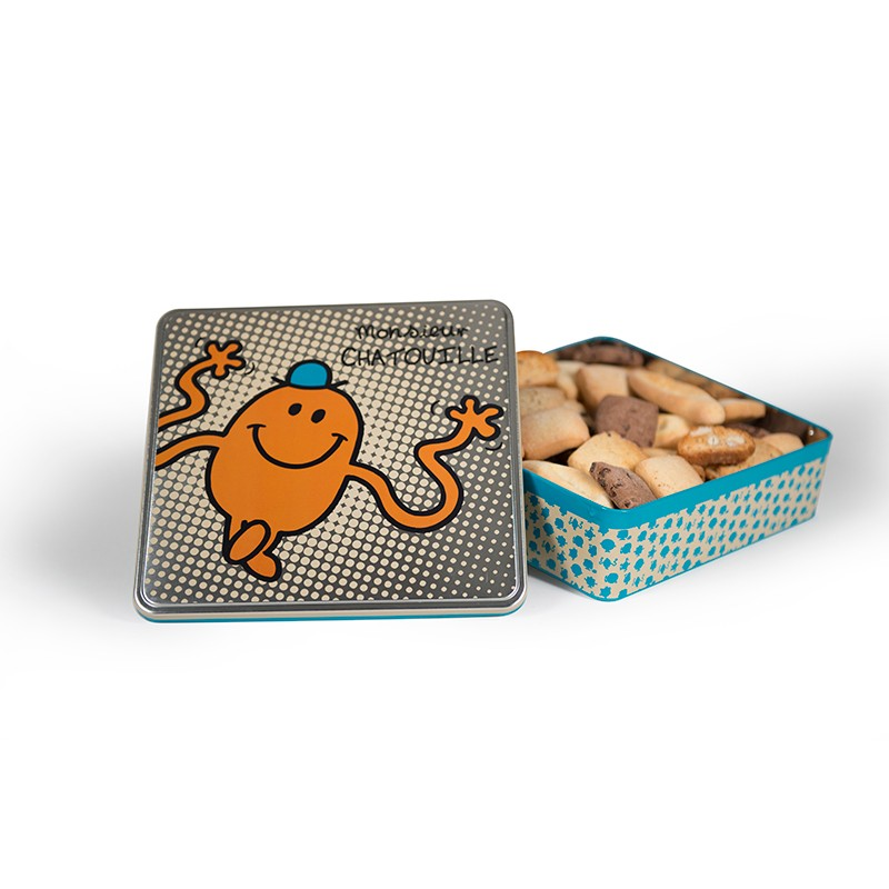 Boites à biscuits Sénior - Monsieur Chatouille